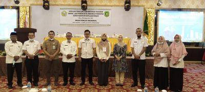 BPBJ Gelar Diklat Dan Ujian Serifikasi Bagi 42 ASN Dilingkungan Pemerintahan Kepualan Meranti