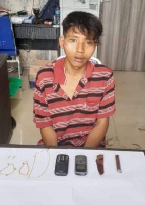 Pria Diduga Pelaku Pembunuhan IRT Di Rangsang Barat Akhirnya Ditangkap Polisi