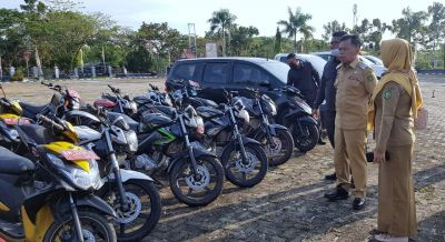Tertipkan Aset, Wabup H. Asmar Intruksikan Kepada Pengguna Kendaraan Dinas Untuk Segera Kumpulkan